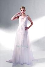 2014 Hot sale short sleeve Lace Straps Deep V-Neck Lace Ruffle Bridal Dress
