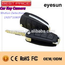 Full HD 1080P 808 car keys micro camera,hidden dvr car key, car key mini camera