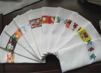 cheap 100% cotton plain organic cotton tea towels