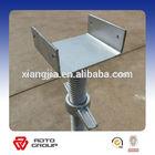 Tianjin manufacturer flat base U head adjustable jack