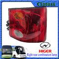 Klq6129g Kinglong Ankai Yutong Higer peças de reposição ônibus saiu lâmpada combinação traseira