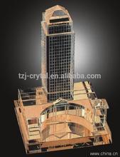 2014 New Design k9 crystal, crystal model building