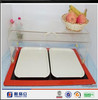 Yageli High quality acrylic food cover / acrylic pendant necklace display / single lace cosmetic display