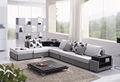 Withe e preto sofá da tela sofá cama baratos sala de estar mobiliário modelo 186