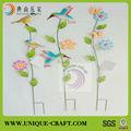 venta al por mayor 2013 al aire libre y de interior de la mariposa colorido jardín decoración palo
