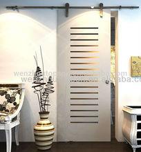Glass/wood sliding door system/hanging door hardware