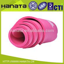 eco extra thick natural rubber anti slip nbr yoga mat wholesale China
