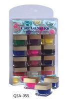 Color gel nail kits nail art professional uv led color acrylic powder