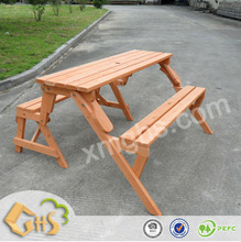 Picnic Wooden Small Table