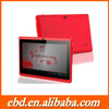 OEM super touch pad tablet 7 inch Allwinner A23 Dual Core Android 4.2 Tablet PC With CE ROHS for World CUP