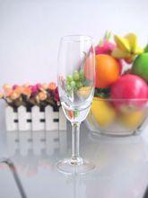 Hot sale handmade high quality long-stem crystal glassware for hotel/restaurant 190ml/6.3OZ(glass factory had passed FDA/EU/SGS)