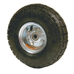 small rubber wheels for trolley 4.10/3.50-4