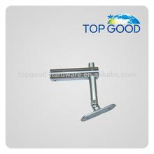 stainless steel handrail mounting post bracket