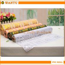 Jinhua PVC Clear Plastic Rolls / Paper Roll