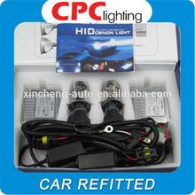 HID xenon conversion kit headlight slim ballast xenon lamp 12v 35w h4 hi lo 6000k