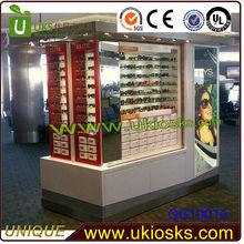 Brightness lightness sunglasses display kiosk&mall sunglasses kiosk&sunglasses kiosk showcase