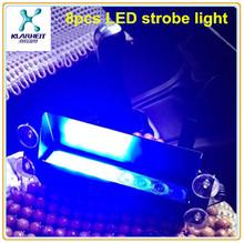 Hot 8pcs led strobe light flash light masturbator
