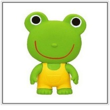 collection model, custom rubber frog toy, custom frog toy for corporate gift