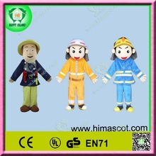 HI CE best selling fashion soft fireman sam mascot costume for adult