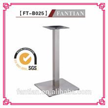 stile di modo parte mobili tabella di base quadrata in acciaio inox tabella di base nei mobili parte