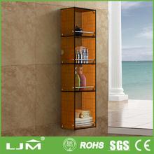 environmentally smooth wooden media shelf