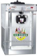 soft ice cream machine price flat pan fried ice cream machine with CE