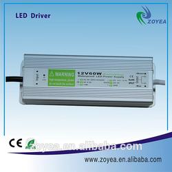 60W 220v 24v power supply,Waterproof Led Power Supply IP67