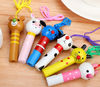 wooden kids funny whistle keychain cartoon kids whistles