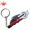 promotion gifts pvc keychain 3d with metal keyring