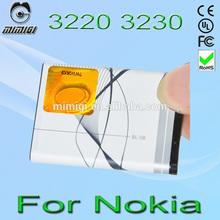 Genuine BL-5B 5B Battery For Nokia 3220 3230 5070 5140 5140i 5200 5208 5300 5320XM 5320diXM 5500 Mobile Phone