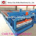 Russland design sb20-216-1080 bambus kleine Schritte dachziegel making machine, Immobilien
