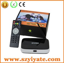 Smart TV BOX mini PC CS918 Quad Core Android 4.2 Bluetooth Wi-Fi 1080P Antenna