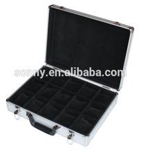 aluminum watch storage boxes