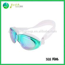 2014 Fashional Colorful and cheap fun swimming goggles