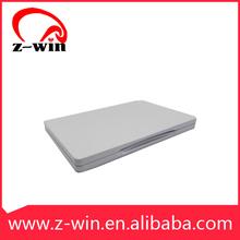 Z-WIN Tinplate Silver Disc Wallet