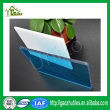 Bayer Markrolon uv-protection extruded waterproof bulletproof soundproof aluminum led edge lit profile polycarbonate sheet