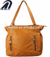 best sale new fashion double zipper jute tote bag