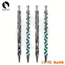 rubber grip ball pen rocket shape ball pen