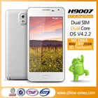 New Unlock WIFI GPS WCDMA 3G GSM Android 4.7 inch Smart Phone