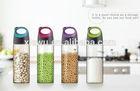 Custom Drinking Cheap Insulated Glass Beverage Bottle 500ml
