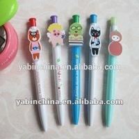 School supply promotional stationary finger cartoon pen