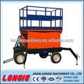 Lisjy0.3-10 tesoura móvel elevador hidráulico plataforma