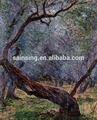 top qualidade da mão pintada pintura a óleo da lona da paisagem