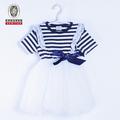 la mode vestimentaire 2012 pure couleur enfants robes de soirée
