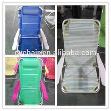 heavy people aluminium folding beach chair