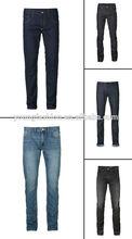 Cotton Denim Casual Jeans For Men