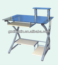 office table glass table computer desk (DX-E001)