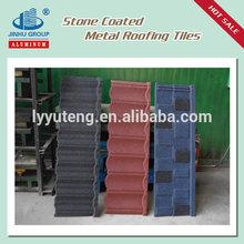 Zinc roof sheet price coated steel roof tile