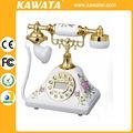 Identificador de chamadas modelo antigo Old Fashion suporte de mesa telefone antigo