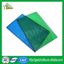 GE uv blocking solar anti-fog corrugated impact resistance hard plastic transparent sheet
